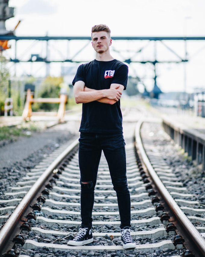 Herzblut Kollektion - T-Shirt schwarz- Fabio